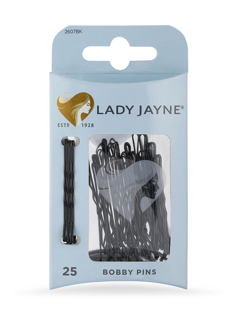 Black Bobby Pins - 25 Pk