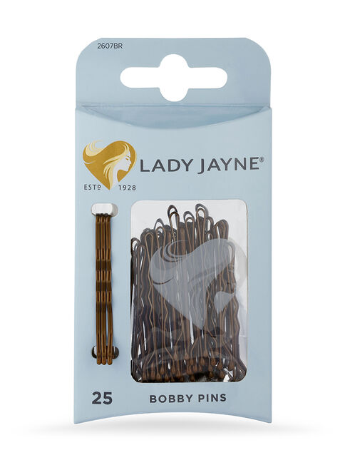 Brown Bobby Pins - 25 Pk