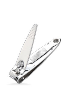 Nail Clippers, with Nail File and Key Chain