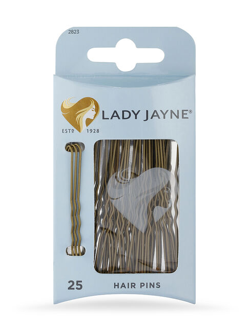 Brown Hair Pins - 25 Pk