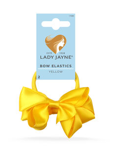 Bow Elastics Yellow - 2pk