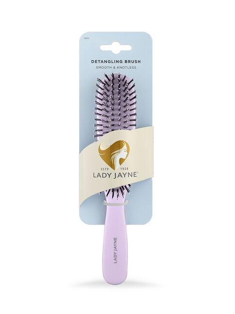Pastel Purple Smooth & Knotless Detangling Brush - Large