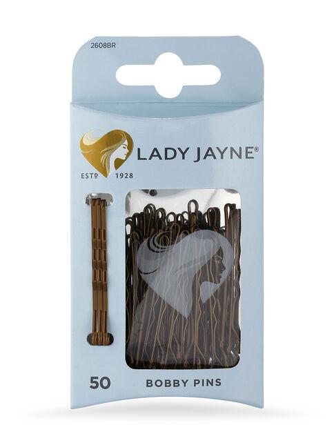 Brown Bobby Pins - 50 Pk