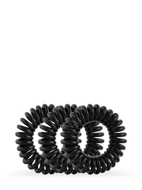 Style Guards Black Kink Free Spirals - 8 Pk