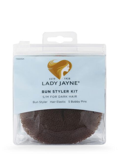 Dark Bun Styler Kit - S/M