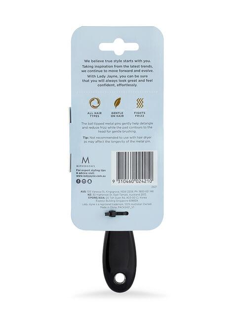 Purse-Sized Metal Pin Pad Brush