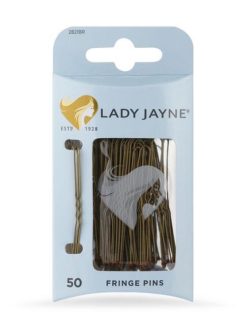 Brown Fringe Pins, 50 Pk