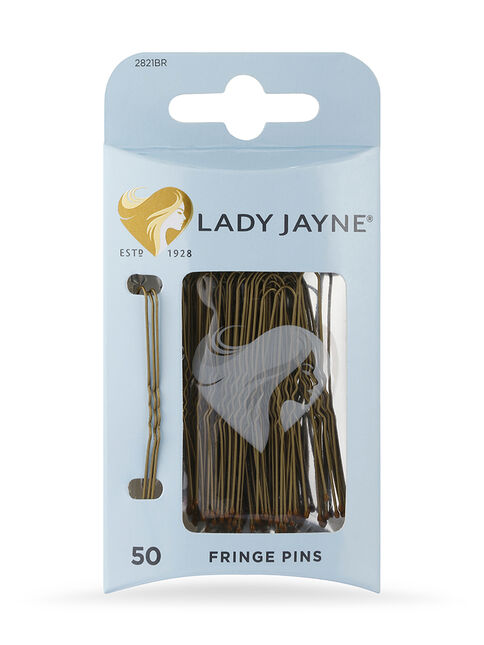 Brown Fringe Pins, 50 Pk