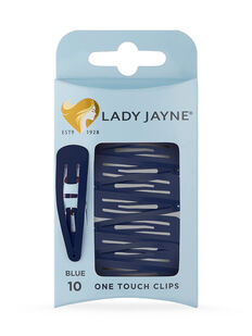 One Touch Clips Blue - 10pk