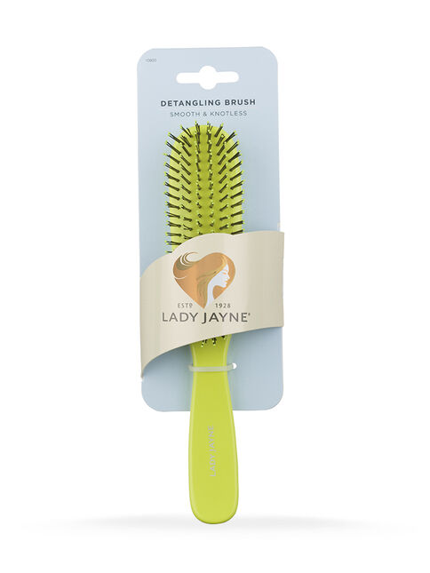 Green Smooth & Knotless Detangling Brush - Large