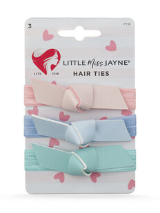 Bow Hair Ties 3 Pack