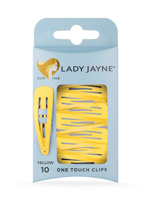 One Touch Clips Yellow - 10pk