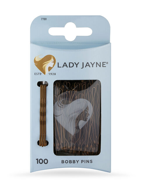 Brown Bobby Pins - 100 Pk