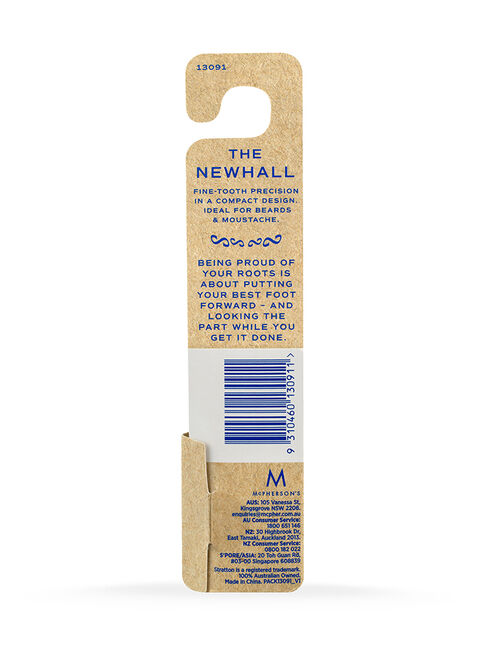 The Newhall Flick Comb
