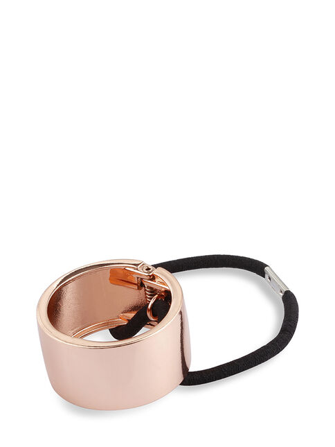 Rose Gold Metal Ponytail Cuff