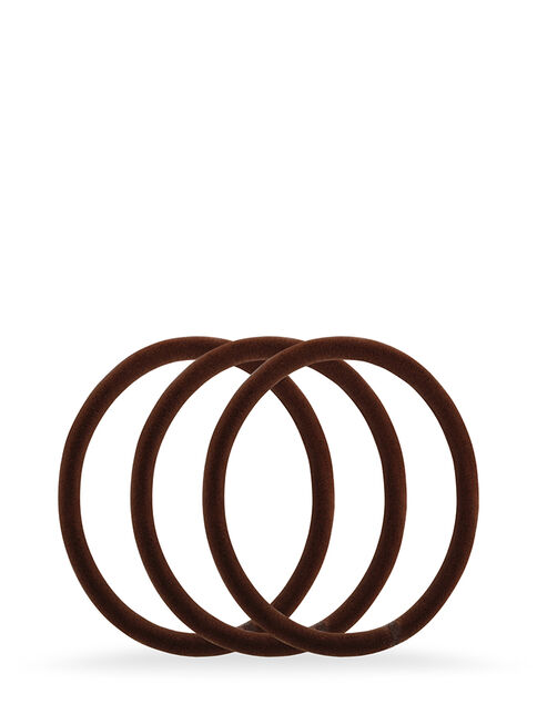 Smoothies Brown Luxury Elastics - 8 Pk