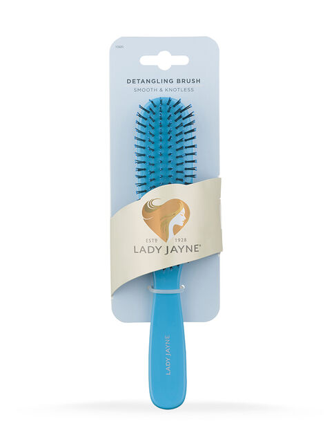 Blue Smooth & Knotless Detangling Brush - Large