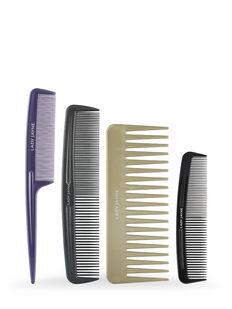 Styling Comb Set - 4 Pk