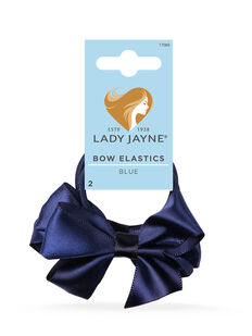 Bow Elastics Blue - 2pk